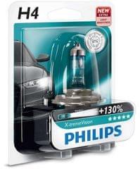 Philips X-tremeVision H4, 12 V, 60/55 W, 1 ks