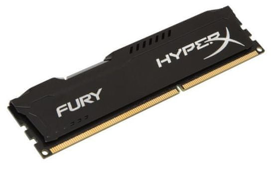 Kingston RAM DDR3 4GB PC1600 HX FURY, črn