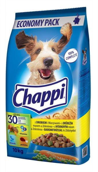 Chappi s drůbežím masem 10 kg
