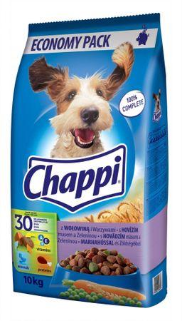 Chappi Marhahúsos kutyatáp - 10kg