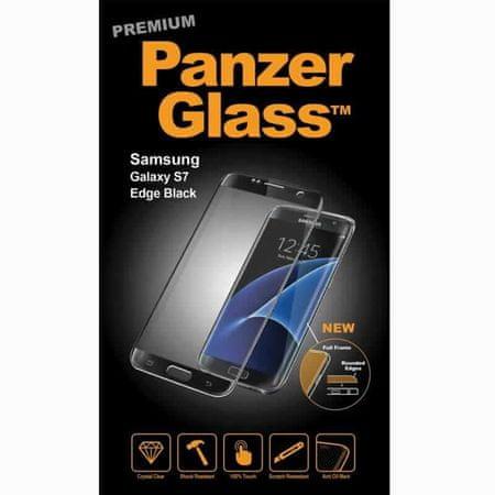 PanzerGlass premium zaščitno steklo za Samsung Galaxy S7 Edge Black