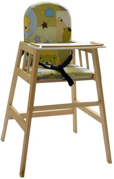 Dřevěná jídelní židlička Faktum Abigel, přírodní