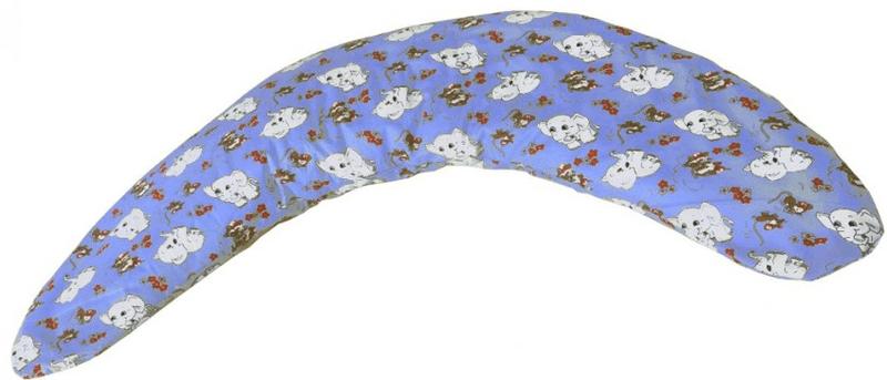 Kvalitex Polštář na kojení Milánek, Slůňata modrá