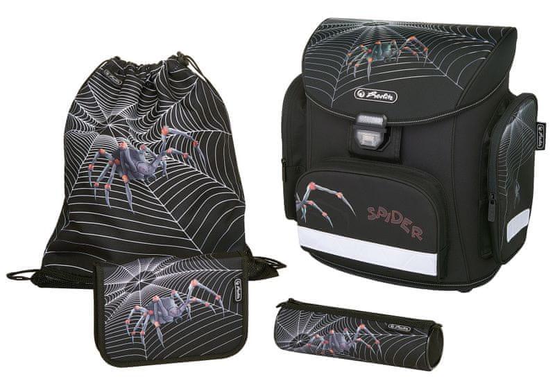 Herlitz Školní batohový set Midi Pavouk