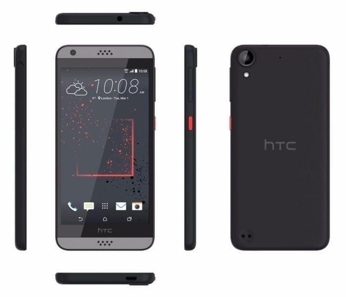 HTC Desire 530, tmavě šedá