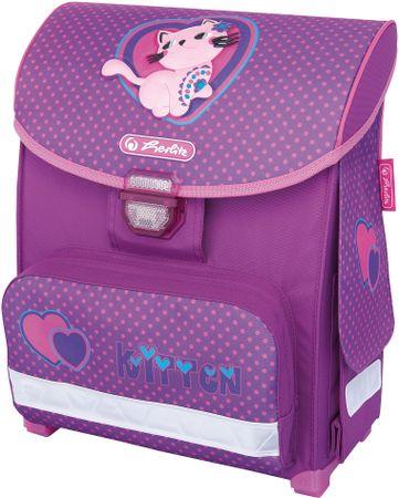 Herlitz Školní batoh Smart Kočka