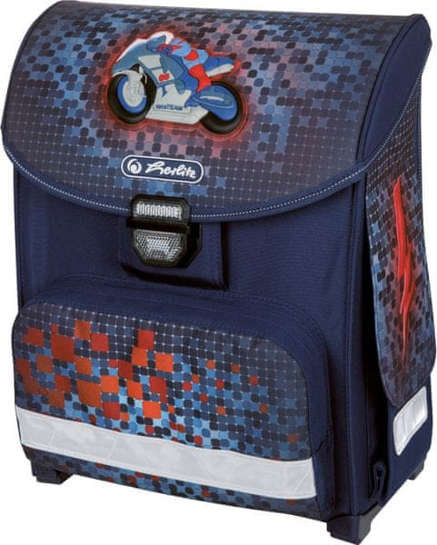 Herlitz Školní batoh Smart Motorka