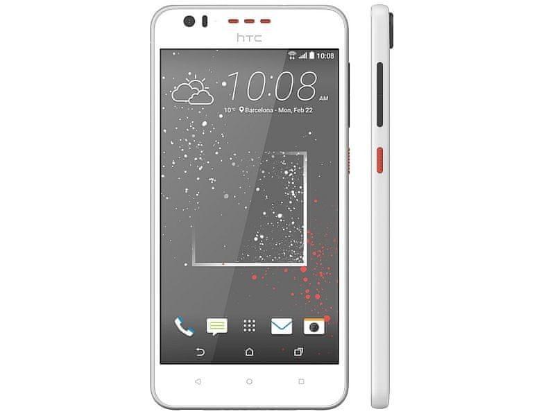 HTC Desire 530, bílá