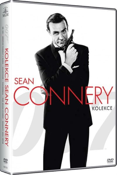 JAMES BOND Sean Connery - kolekce - DVD