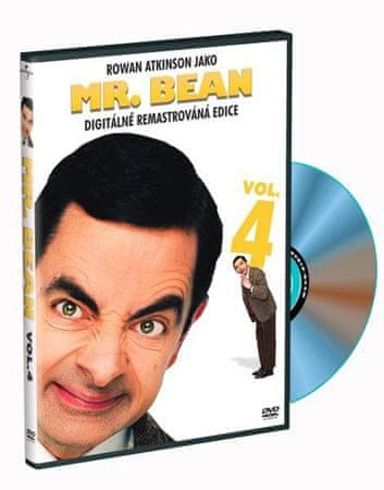 Mr. Bean REMASTERED 4 - DVD