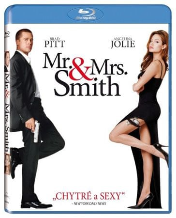 Mr. and Mrs. Smith   - Blu-ray