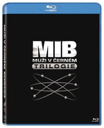 Muži v černém 1, 2, 3 - Blu-ray