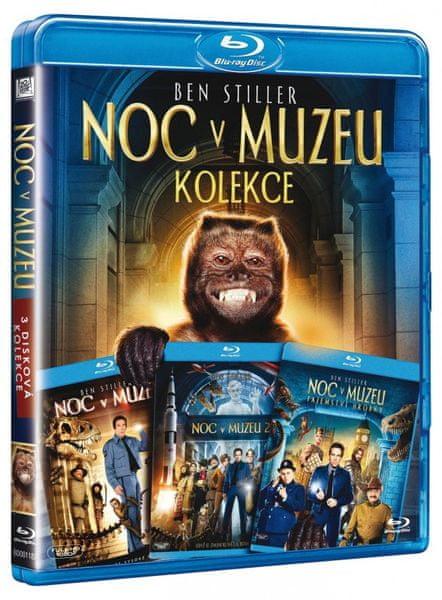 Noc v Muzeu 1-3 - DVD