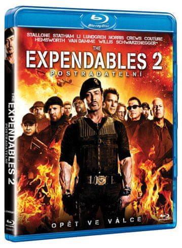 Expendables: Postradatelní 2 - DVD