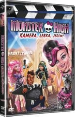Monster High: Kamera, Lebka, Jedem!   - DVD