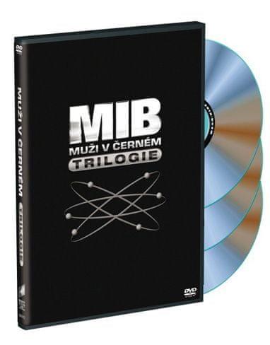 Muži v černém 1, 2, 3 - DVD