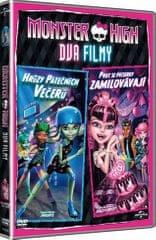 Monster High: Proč se příšerky zamilovávají & Hrůzy páteční noci   - DVD