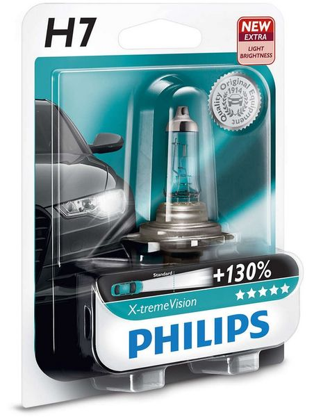Philips X-tremeVision H7, 12 V, 55 W, 1 ks