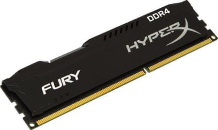 Kingston RAM DDR4 8GB PC2400 HX FURY, črn
