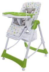 Sun Baby Jídelní židlička Laura
