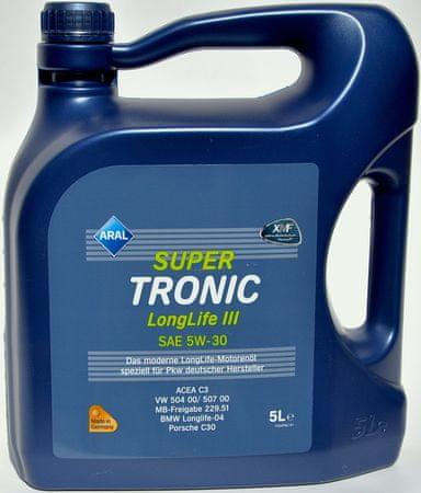 Aral olje Super Tronic LongLife III 5W30 5L