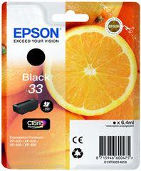 Epson Singlepack Black 33 Claria Premium (C13T33314010)