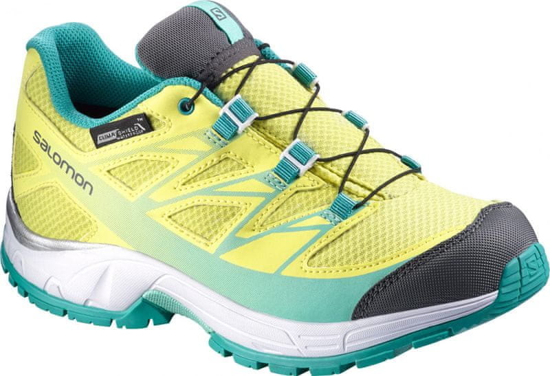 Salomon Wings Cswp J Citrus-X/White/Teal Blue F 36