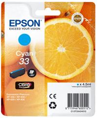 Epson Singlepack Cyan 33 Claria Premium (C13T33424010)