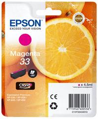 Epson Singlepack Magenta 33 Claria Premium (C13T33434010)