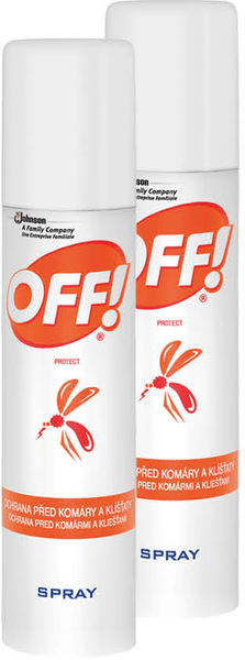 OFF! Protect spray 2x 100 ml