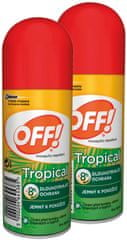 OFF! Tropical spray 2x 100 ml