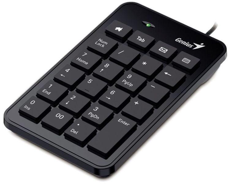 Genius Numerická klávesnice Numpad i120, USB (31300727100)