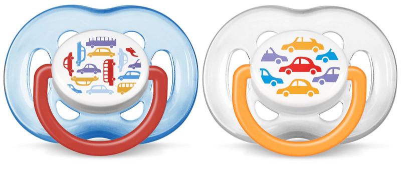 Avent Šidítko Sensitive Obrázek 6-18 m. bez BPA – kluk