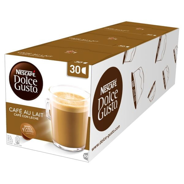 Nescafé DOLCE GUSTO CAFE AULAIT 3balení XXL