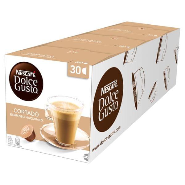 Nescafé DOLCE GUSTO CORTADO 3balení XXL