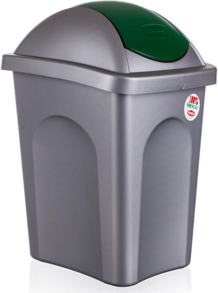 Stefanplast Odpadkový koš Multipat 30 l zelená
