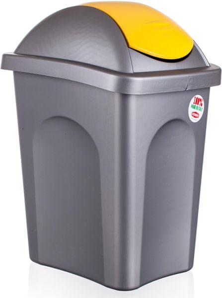 Stefanplast Odpadkový koš Multipat 30 l žlutá