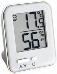 TFA termometr z higrometrem Metal Moxx
