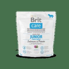 Brit Care Grain-free Junior Large Breed Salmon 1kg