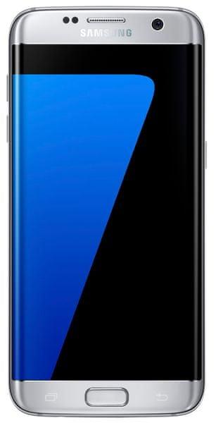 Samsung Galaxy S7 Edge, stříbrná