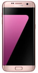 Samsung Galaxy S7 Edge, růžová + Cashback 2600 Kč!