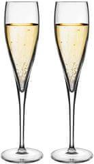 Luigi Bormioli set kozarcev za šampanjec Sparkling 175 ml, 2 kosa