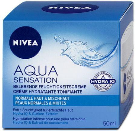 Nivea dnevna krema Aqua Sensation, 50ml
