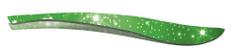 CS Solingen pinceta za depilacijo, svetlikajoča zelena