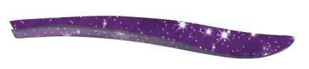 CS Solingen pinceta za depilacijo, svetlikajoča vijolična