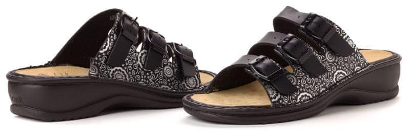 Scholl dámské pantofle Giosi 36 černá