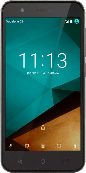 Vodafone Smart Prime 7, černý