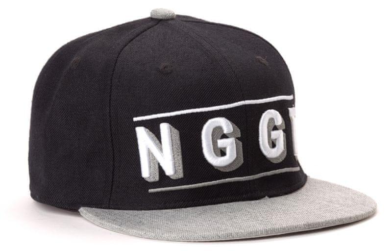 Nugget unisex černá kšiltovka