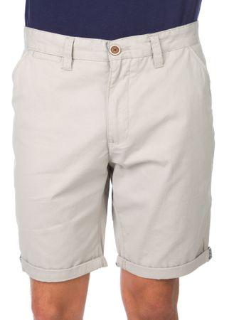 Brave Soul moške kratke hlače Klaxon L siva