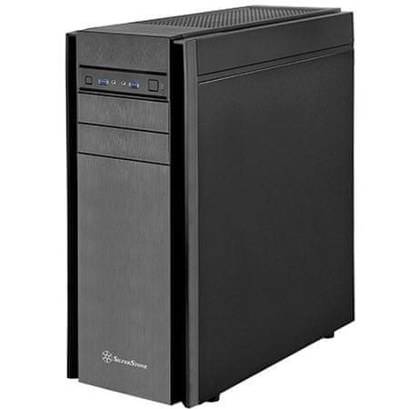 Silverstone kućište ATX KL05B-Q, USB3